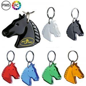 paarden sleutelhangers bedrukken eigen logo