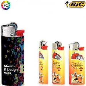 bic j25 aanstekers met eigen logo