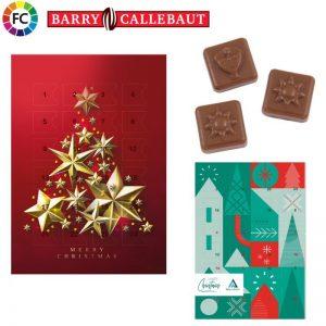 adventkalenders bedrukken chocolade adventkalenders met eigen opdruk A4