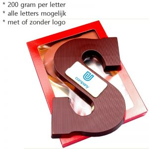 Chocoladeletters 200 gram-0
