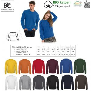Sweater B&C Collection -0