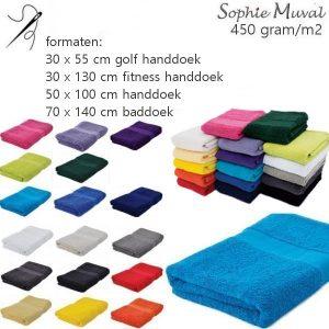 Handdoeken Sophie 450 INCLUSIEF borduring-0