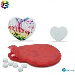 bedrukte pepermuntjes dispensers bedrukken online bestellen mintjes hart