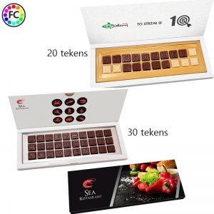 Chocolade tekst of telegram-0