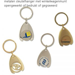 Sleutelhangers met munt Custom made-0