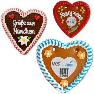 Honingkoek lebkuchen Herz-0