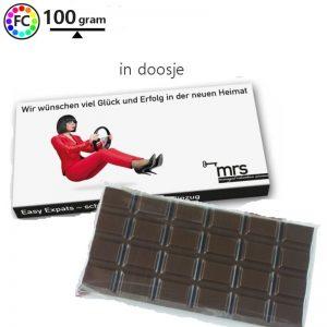 Chocolade 100 gram doosje Bets-0