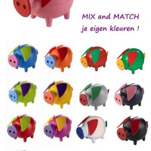 Spaarvarkens mix and match Bob-0