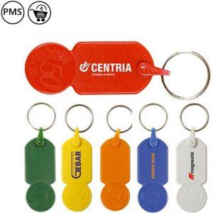 Sleutelhangers met munt Mercado-0