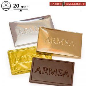 Chocolade met embossing Berna-0