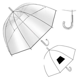 Paraplu transparant Bellevue-0