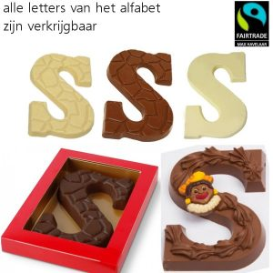 Chocoladeletters Fairtrade-0