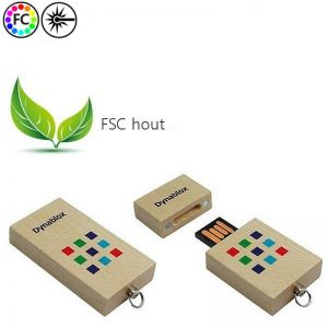 USB sticks FSC Hout-0