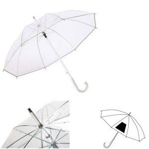 Paraplu transparant Panoramix-0