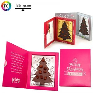 kerst chocoladekerstkaart bedrukken