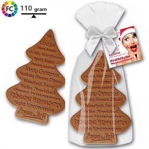 kerstchocolade bedrukken kerstboom