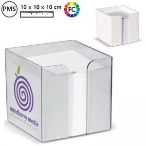 kubusblokken bedrukken met logo rabaut