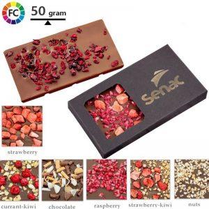 luxe gevulde chocoladerepen bedrukken cuarante