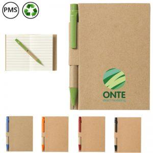 recyclenote bedrukte notitieboekjes van gerecycled papier met logo
