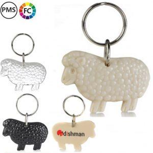 schapen sleutelhangers bedrukken bedrukte schaapjessleutelhangers met logo