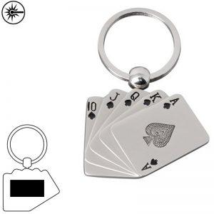 Sleutelhangers speelkaarten Ace-0