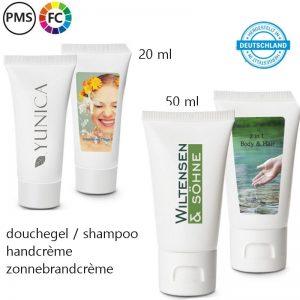 tubes handcreme bedrukken bedrukte tubes shampoo