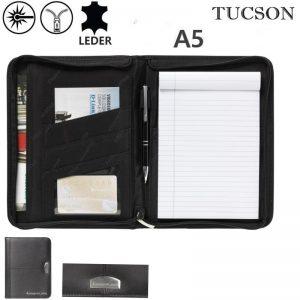 Leren schrijfmappen A5 Tucson Chief-0