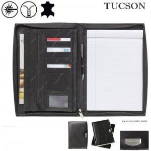 Leren schrijfmappen A4 Tucson Governor-0