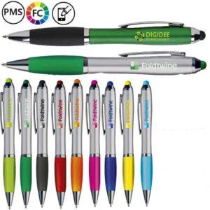 athos bedrukte pennen styluspennen met logo