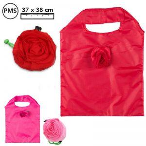 Opvouwbare tas met roos Valentina-0