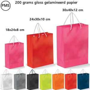 Gelamineerd papieren tas Ruma-0