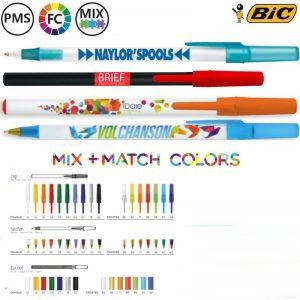 bic round stic ecolutions bedrukte pennen online kopen