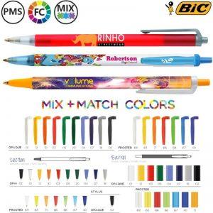 bic clic stic balpennen bestellen opdrukken
