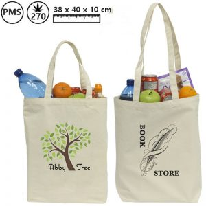 Canvas tassen shoppybag Mette-0