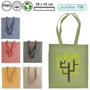 gerecycled katoenen tassen met logo medea