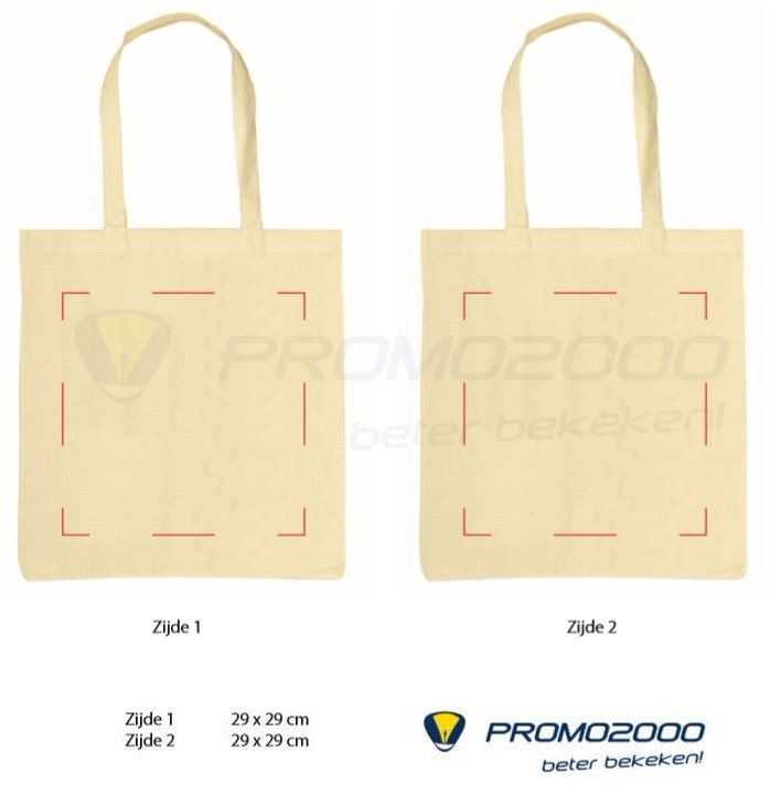 51b5e52172d Katoenen tassen Loes - Promo2000