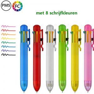 achterkleurenpennen bedrukken