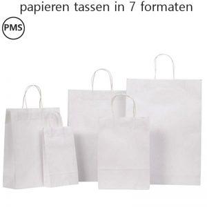 papieren tasjes bedrukken met eigen logo