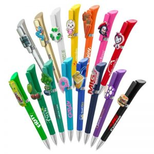 pennen met eigen clip ontwerp laten maken