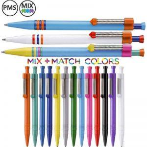 regenboog pennen bedrukken bedrukte regenboog pennen