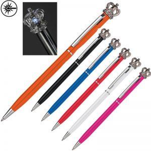 pennen met een kroontje er op koningshuis kroonpennen royal
