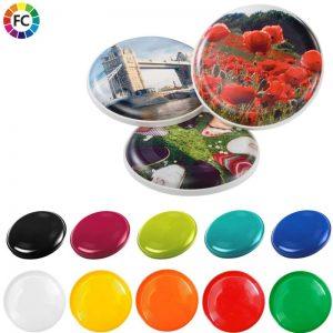 bedrukte frisbees bedrukken met foto fullcolor bedrukte frisbees flyer