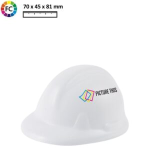 Anti stress helm met fullcolcor opdruk-0