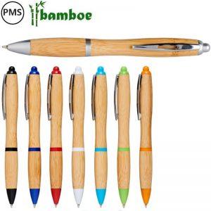 bamboe pennen bedrukken bedrukte hawai eco pennen