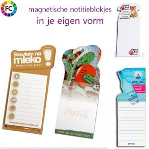 Notitieblokjes met magneet Custom Made-0