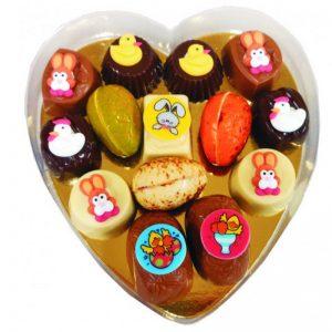 Paas bonbons in hart doos-0