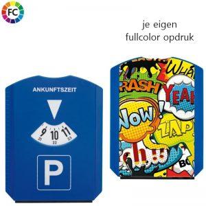 Parkeerschijf fullcolor bedrukt Eri-0