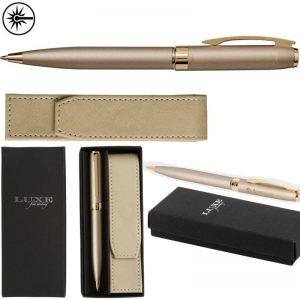 Geschenkset pen met etui Poudra-0
