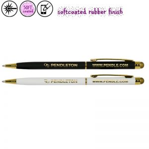 Stylus softcoated Nelly Gold-0