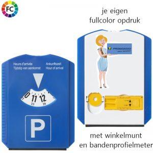 Parkeerschijf Multifunctie fullcolor bedrukt-0